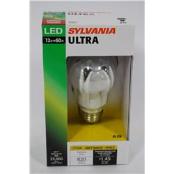 SYLVANIA 12 WATT=60 WATT LED LIGHT BULB