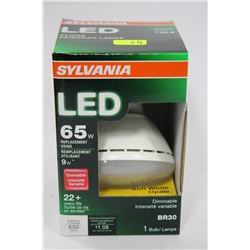 SYLVANIA 9 WATT = 65 WATT LED FLOOD LIGHT