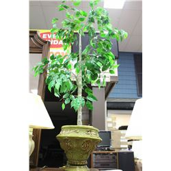 ARTIFICIAL PLANT W PLANTER ON CHOICE
