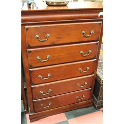 ROSEWOOD 6-DRAWER DRESSER &