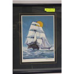 GILBERT PROVOST 1037/1450 SAILBOAT PRINT