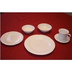 PFALTZGRAFF 76PC. DINNERWARE (WHITE)