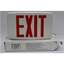 LED EXIT SIGN X 2