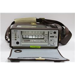 VINTAGE AKAI PORTABLE VCR