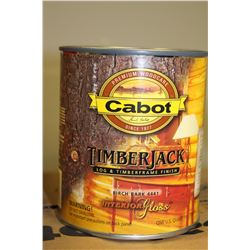 CASE OF 6- .95LITRE CANS BIRCH BARK STAIN