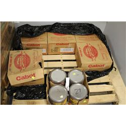 PALLET WITH 22 PAILS OF 3.785 LITRES BIRCH BARK