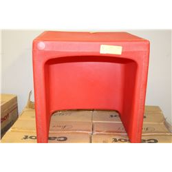 RED 2-WAY BOOSTER CHAIR