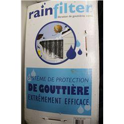 RAIN FILTER GUTTER FILTRATION SYSTEM