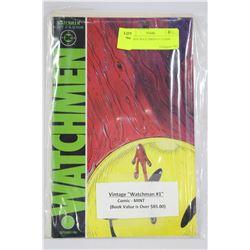 VINTAGE WATCHMAN #1 COMIC - MINT