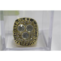 1987 WAYNE GRETZKY STANLEY CUP RING - REPLICA