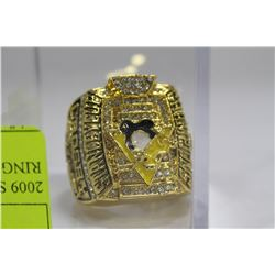 2009 SIDNEY CROSBY STANLEY CUP RING - REPLICA