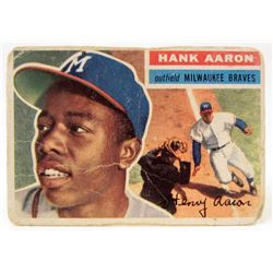 1956 TOPPS #31 HANK AARON BASEBALL CARD