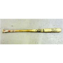 LOUISVILLE SLUGGER NO. 125 PROFESSIONAL GAME USED BASEBALL BAT