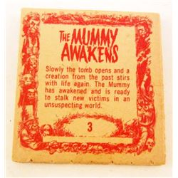"C. 1960S TOPPS ""THE MUMMY AWAKENS"" MOVIE FLIP BOOK"