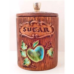 VINTAGE TREASURE CRAFT SUGAR CANISTER