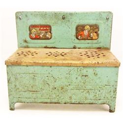 C. 1930S LITTLE ORPHAN ANNIE METAL PLAY STOVE