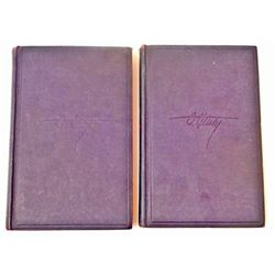 "SET OF 2 VINTAGE 1931 ""THE TRIMMED LAMP"" VOL. 1, 2 HARDCOVER BOOKS"