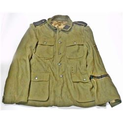 GERMAN NAZI PRIVATE FIRST CLASS GREEN JACKET
