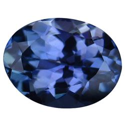 0.92 CT BLUISH PURPLE TANZANITE