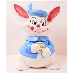 VINTAGE EASTER BUNNY COOKIE JAR