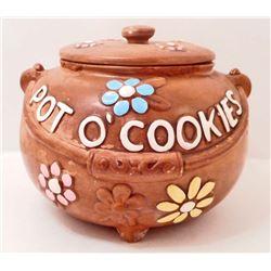 VINTAGE TWIN WINTON POT O' COOKIES COOKIE JAR