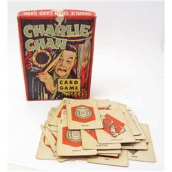 1939 CHARLIE CHAN CARD GAME IN ORIG. BOX - WHITMAN