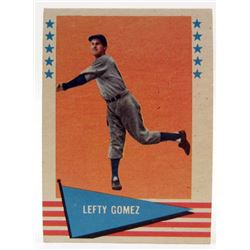 1961 FLEER LEFTY GOMEZ #34 BASEBALL CARD