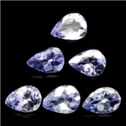 LOT OF 7.96 CTS OF BLUE TANZANITE 71 PIECES