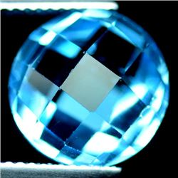7.81 CT SWISS BLUE BRAZIL TOPAZ