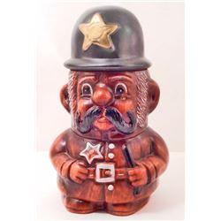VINTAGE POLICE MAN COOKIE JAR