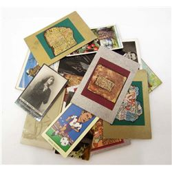 LOT OF APPROX. 27 VINTAGE TOBACCO CARDS - VARIOUS
