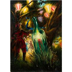 "Final Painting ""The Bottle Neck"" by Ron Croci for Andersen's Fairy Tales"