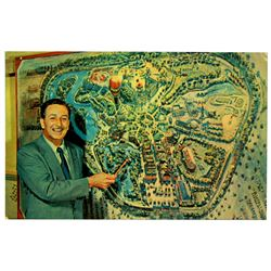 Disneyland opening day postcard.