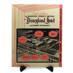 Disneyland Hotel  sales brochure.