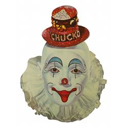"Disneyland Hotel  childs ""Chucko the Clown"" menu."