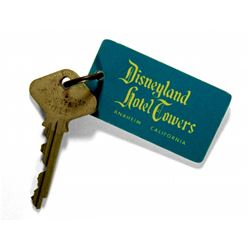 Disneyland Hotel guest room key and fob.