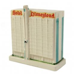 Disneyland Hotel souvenir bank.