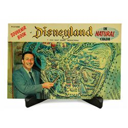 Disneyland in Natural Color 1955 guidebook.