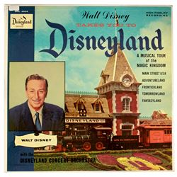 Walt Disney Takes You to Disneyland LP.
