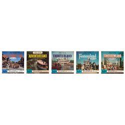 Walt Disney Takes You to… (5) record disneyland set.