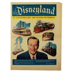 Disneyland 1st Anniversary souvenir pictorial supplement.