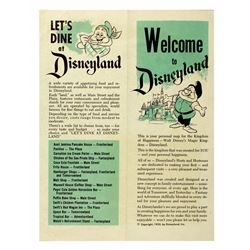 Welcome to Disneyland Gate foldout .
