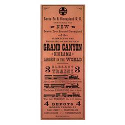 Sante Fe and Disneyland Railroad gate flyer .