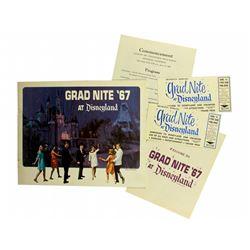 GRAD NITE '67 paper collection.