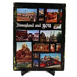 Disneyland and you cast member orientation cover folder.