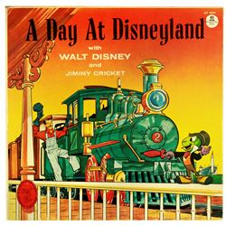 A Day at Disneyland 45rpm record.