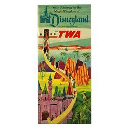 TWA Your stairway to the Magic Kingdom info folder.