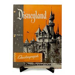 Disneyland Checkergraph magazine.