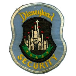 Security officer uniform jacket patch.