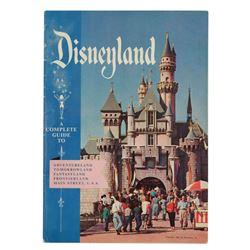 Disneyland guidebook for 1956